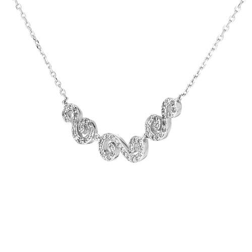 collier femme argent zirconium 8500050 pic3