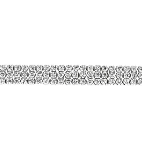 collier femme argent zirconium 9500405 pic2