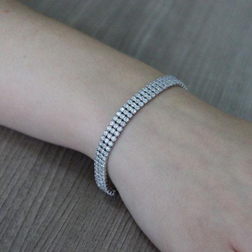 collier femme argent zirconium 9500405 pic5