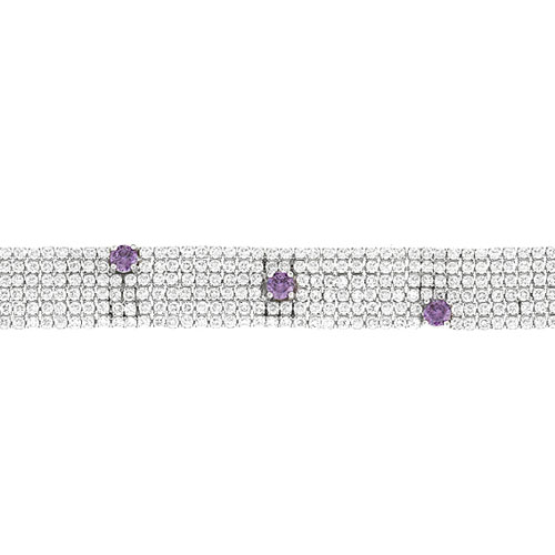 collier femme argent zirconium 9500407 pic2