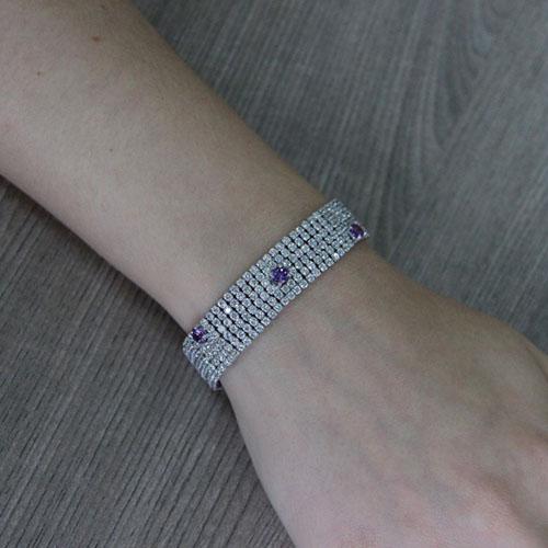 collier femme argent zirconium 9500407 pic4