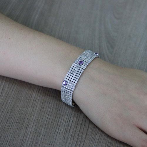 collier femme argent zirconium 9500407 pic5