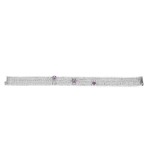 collier femme argent zirconium 9500407
