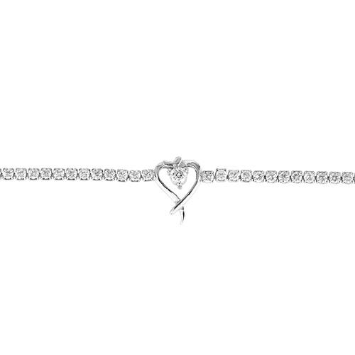 collier femme argent zirconium 9500408 pic2