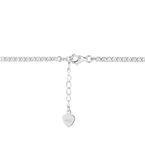 collier femme argent zirconium 9500408 pic3