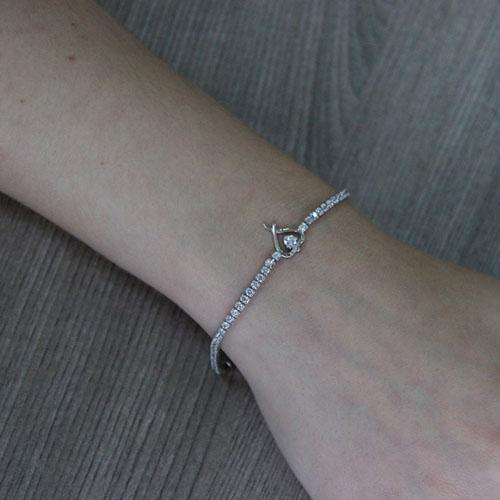 collier femme argent zirconium 9500408 pic4