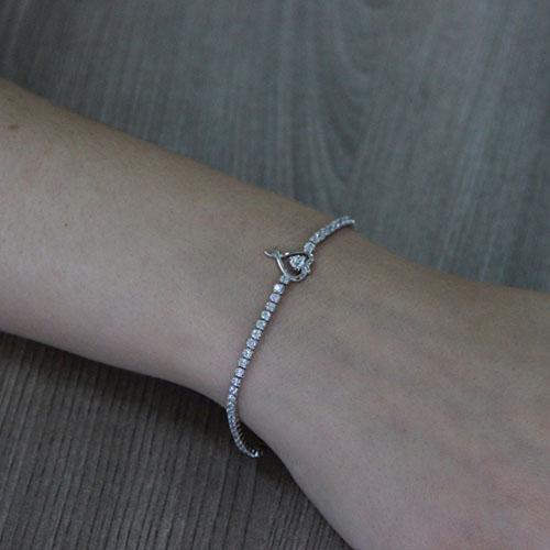 collier femme argent zirconium 9500408 pic5