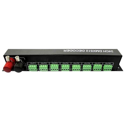 controleur dmx pour bandes led 24 canaux pic2