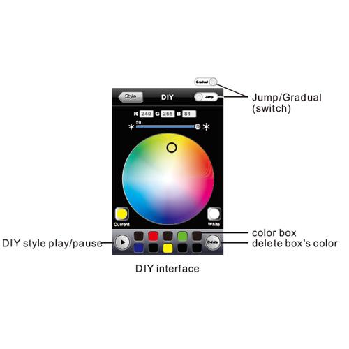 controleur led wifi LEDWIFI102 pic5