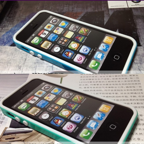 coque Iphone5 polycarbonate silicone pic3