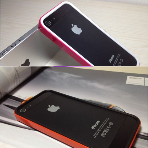 coque Iphone5 polycarbonate silicone pic6