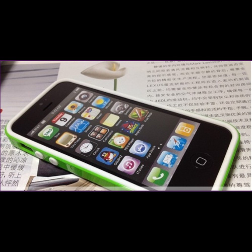 coque Iphone5 polycarbonate silicone pic7