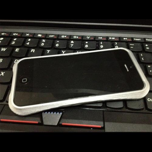 coque aluminium brosse Iphone5 pic8