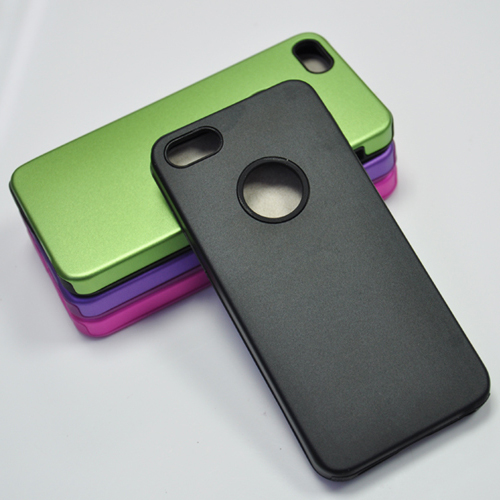 coque iphone5 alu silicone