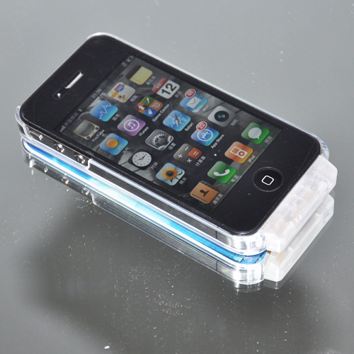 coque iphone 4 crystal lumineuse COQIP4SL1 pic2