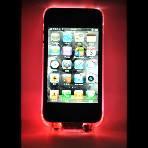 coque iphone 4 crystal lumineuse COQIP4SL1