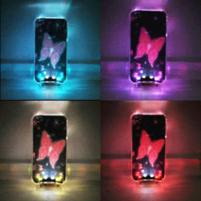coque iphone 4 crystal lumineuse COQIP4SL3