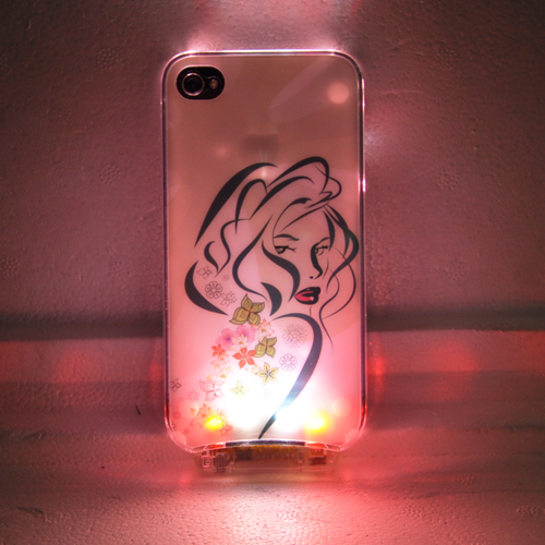 coque iphone 4 crystal lumineuse COQIP4SL4 pic2
