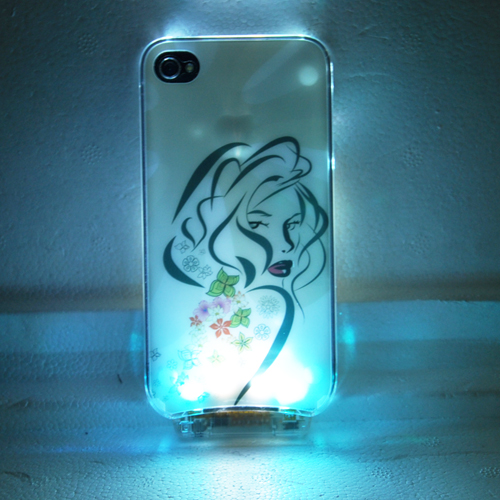 coque iphone 4 crystal lumineuse COQIP4SL4