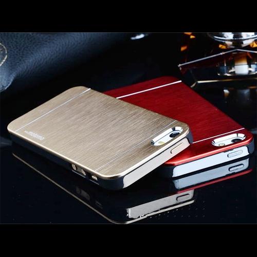 coque metal brosse iphone 4 et 5 pic2