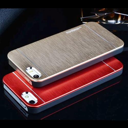 coque metal brosse iphone 4 et 5