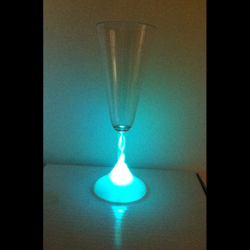 coupe a champagne lumineuse led pic5