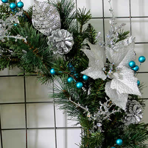 couronne decoration noel LC01 pic2