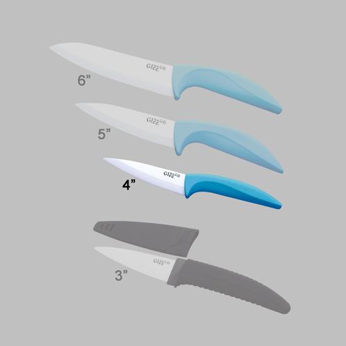 couteau ceramique serie scabbard 4p