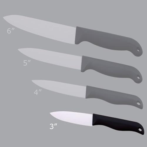 couteau ceramique simple face poli 3p