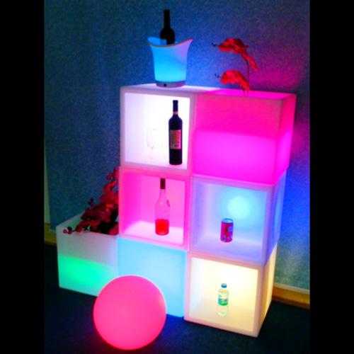 cube lumineux 16 couleurs HSDCB1 pic2