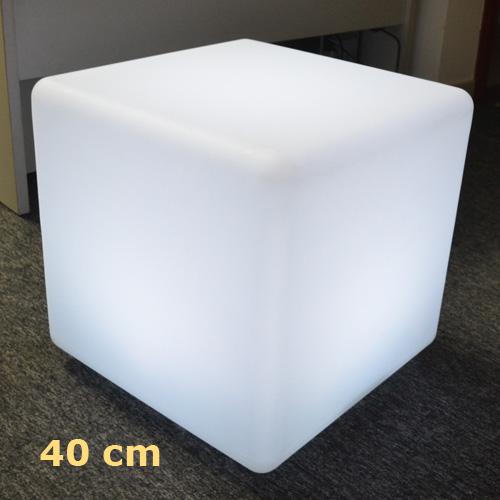 cube lumineux led 40cm