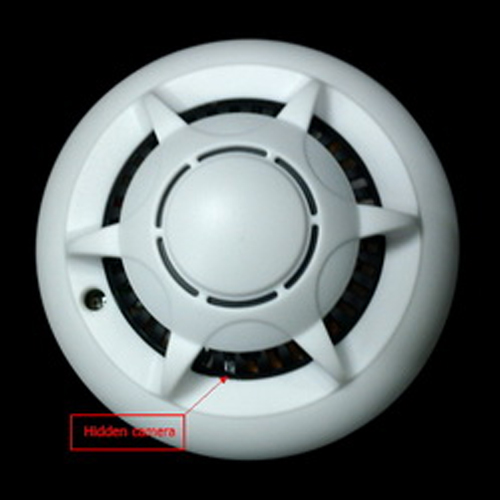 detecteur fumee camera espion wifi SPYDTCSX100