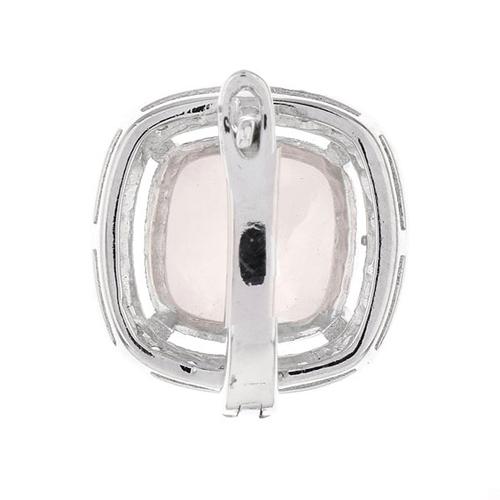 dormeuse femme argent zirconium cristal 8700064 pic4