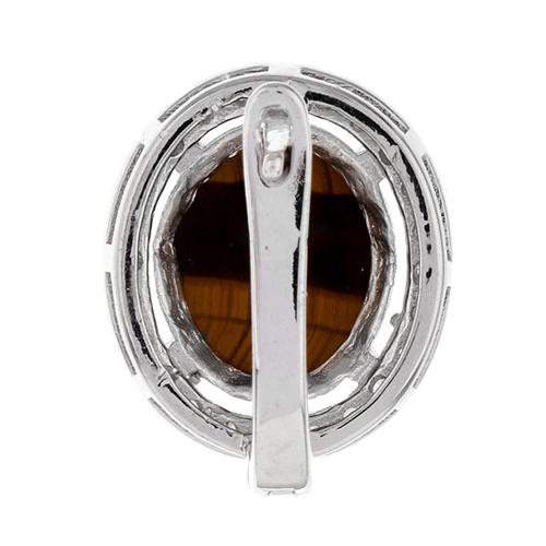 dormeuse femme argent zirconium diamant 8700063 pic4