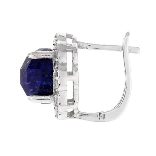 dormeuse femme argent zirconium diamant 8700072 pic3