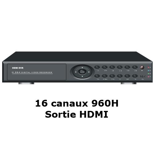 enregistreur DVR 5116