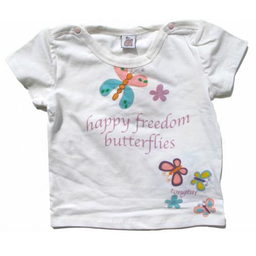 ensemble bermuda tshirt filles TTPR2185 pic2