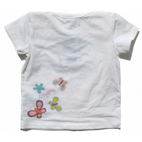 ensemble bermuda tshirt filles TTPR2185 pic4