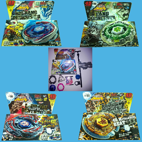 ensemble toupies Beyblade 5 pieces