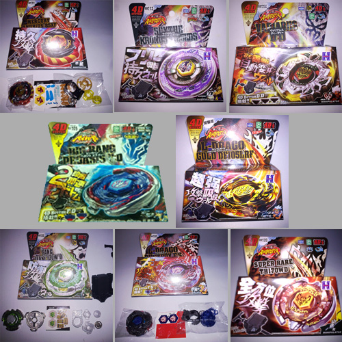 ensemble toupies Beyblade 8 pieces