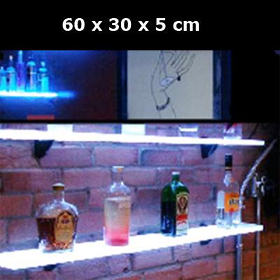 etagere lumineuse led 60x30cm