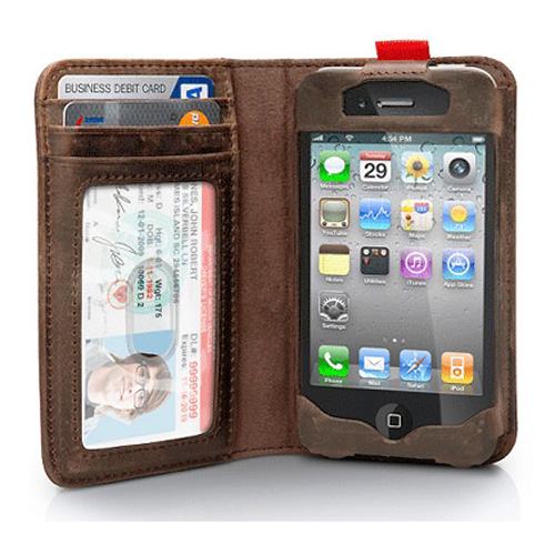 etui cuir iphone5 ETUIIPH5
