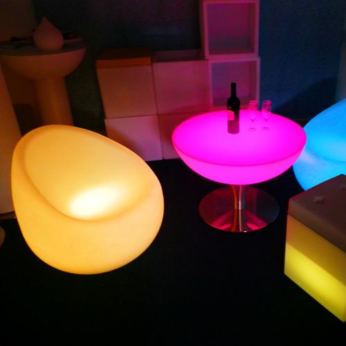 fauteuil lumineux 16 couleurs HSCHAIR77B pic2