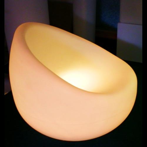 fauteuil lumineux 16 couleurs HSCHAIR77B