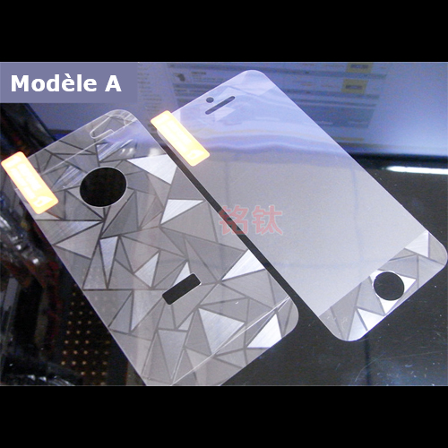 film protection Iphone4S metal mirroir