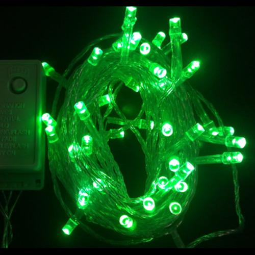 guirlande led vert 10 metres GRLLED04