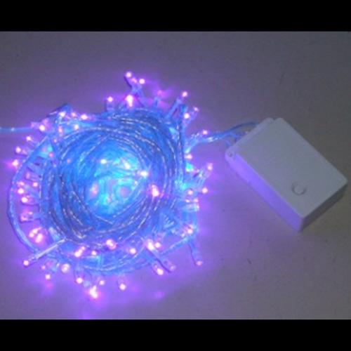 guirlande led violet 10 metres GRLLED08