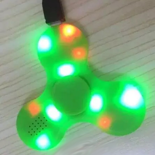 hand spinner bluetooth lumineux SPINNERVS21 pic3