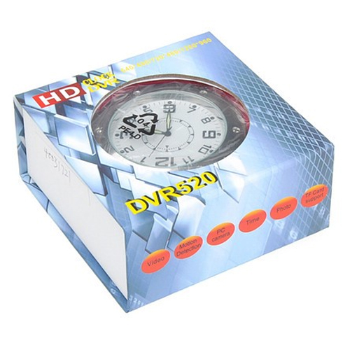 horloge camera espion SPYCLK02 pic2