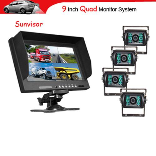 kit camera auto poids lourds RI901Q4